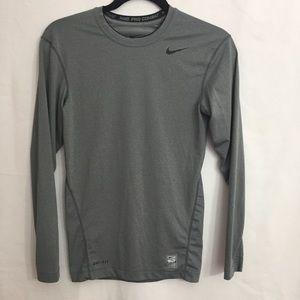 Nike Dri Fit Compression Long Sleeve Shirt